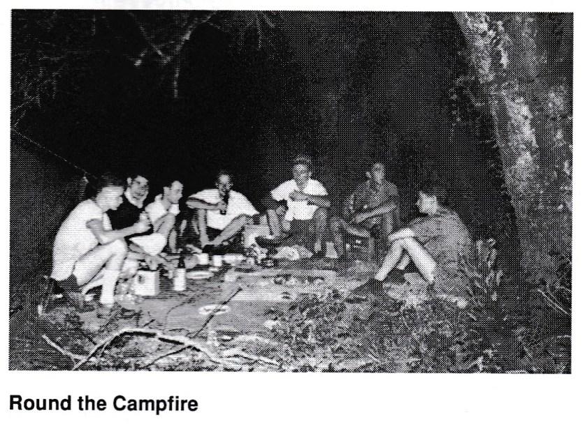 Trip Rob Gouldie Umko campfire